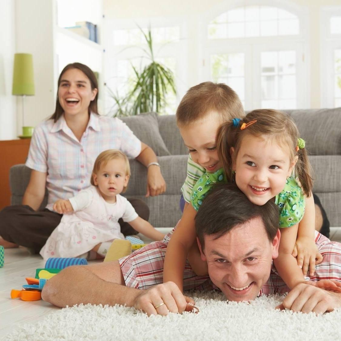 We Appreciate Your Feedback Happy family