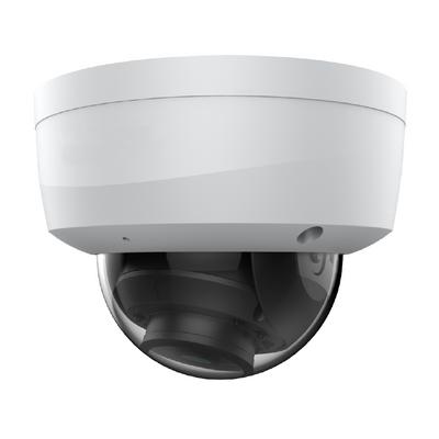 White 4/8mp Fixed IR Dome Camera