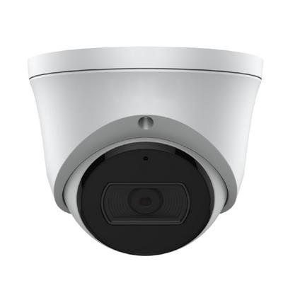 White 4/8mp Fixed IR Turret Camera