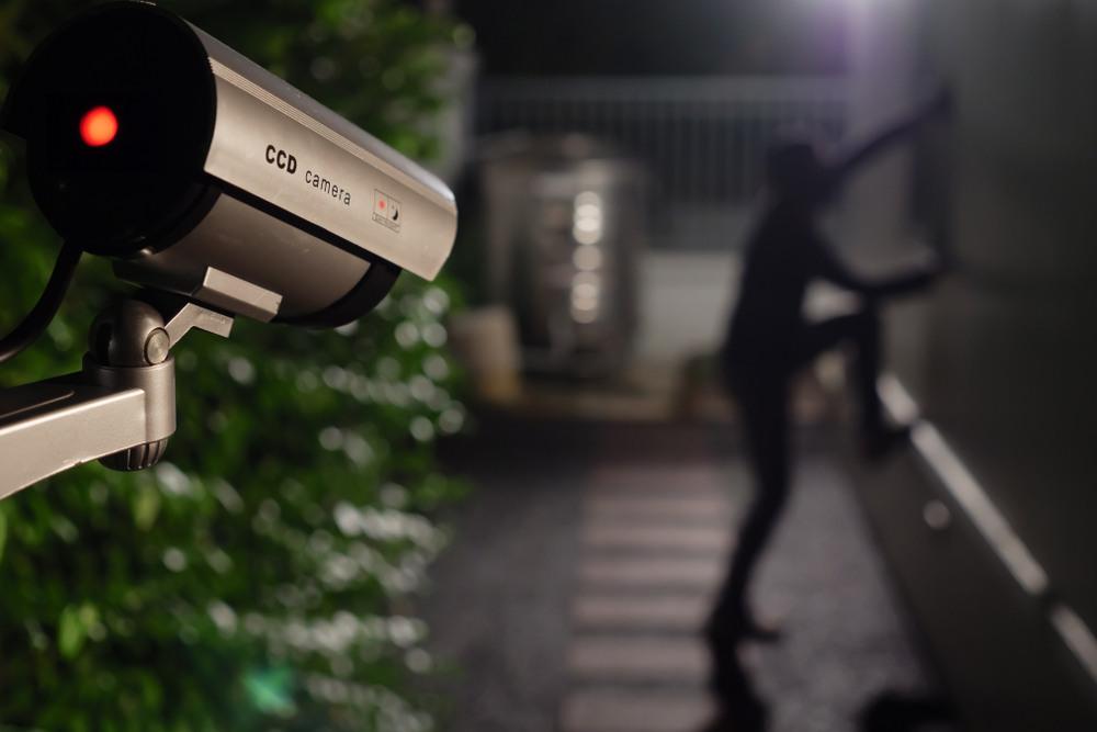 Real-Time Video Surveillance Capturing Intruder