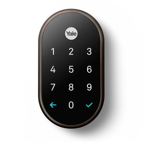 YALE Bronze Keypad Straight v1 1500